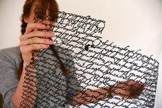 Cut Paper Messages