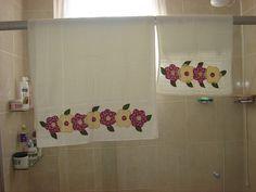 toalha de banho em patchwork - Pesquisa Google