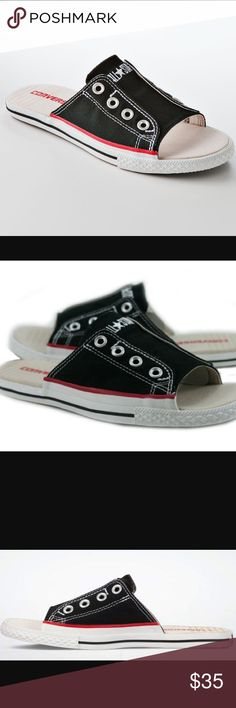 Converse black and white cutaway sandals-NWT! Converse black and white cutaway sandals-NWT! Converse Shoes Sandals