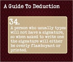 I think this one should be in the Guide to Manipulation category as opposed to Deduction. Writing Tips, Writing Prompts, Writing Help, Writing Corner, Art Prompts, Writing Art, Essay Writing, Guide To Manipulation, The Art Of Manipulation