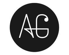 logo Anna Galanou by Siv Nilsen, via Behance Monogram Alphabet, Monogram Logo, Fuente Art Deco, Ag Logo, Dental Logo, Alphabet Wallpaper, Luxury Logo, Graffiti Alphabet, Logo Design