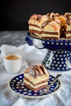 Ciasto góra lodowa Polish Recipes, Polish Food, Sweets Cake, How Sweet Eats, French Toast, Food Photography, Cheesecake, Food And Drink, Yummy Food