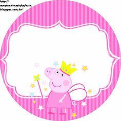 Kit de imprimibles de Pepa Pig para fiesta Fiestas Peppa Pig, Cumple Peppa Pig, Peppa Pig Gratis, Peppa Pig Princesa, Invitacion Peppa Pig, Peppa Pig Imagenes, Peppa Pig Printables, Pig Candy, Aniversario Peppa Pig