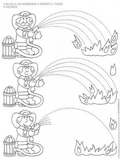 Fire Safety Worksheets Preschool Fire Safety Week Worksheet for Kids 1 Pre Writing, Writing Skills, Preschool Worksheets, Preschool Activities, Free Worksheets, Preschool Learning, Family Activities, Fire Safety Week, People Who Help Us