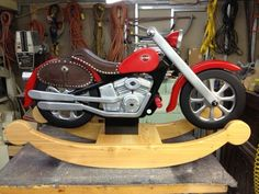 Harley Davidson Rocking Horse Motorcycle Plans