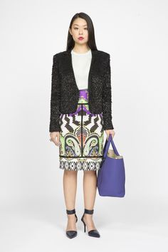 The Patterned Pencil Skirt #WorkWear