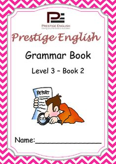 English Grammar Book  Level 3  Book 2This is the 8th book in the 15 book series of the Prestige English Grammar Series.Recommended for upper beginners and students who already have knowledge of some basic grammar.Please also download the 26 page FREE SAMPLE file of this booklet to preview its content and assess it suitability to your students level.Book Content:1.