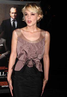 Poshly exhilarating Carey Mulligan ...A la mode Hairstyles... She played Jean Berkey in Inside Llewyn Davis (2013)