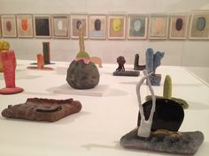 Anonymous Tantric Paintings and Ron Nagle's ceramics at Venice Biennale, 2013.