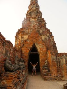 Ayutthaya- Thailand's Answer to Angkor - Adventure Lies in Front Thailand Travel, Asia Travel, Ayutthaya Thailand, Angkor, World Heritage Sites, Southeast Asia, Cool Places To Visit, At Least, Adventure