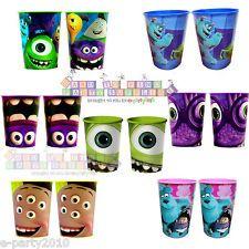 MONSTERS INC UNIVERSITY ~ 16oz Reusable KEEPSAKE CUPS Birthday Party Supplies