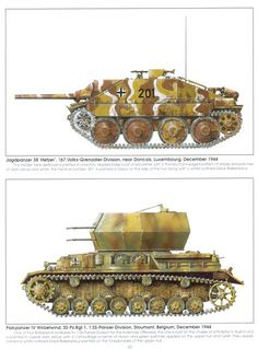 Hetzer tank destroyer & Flak panzer anti aircraft