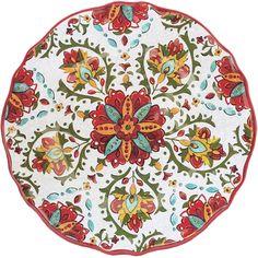 Le Cadeaux Allegra Red - Salad Plate