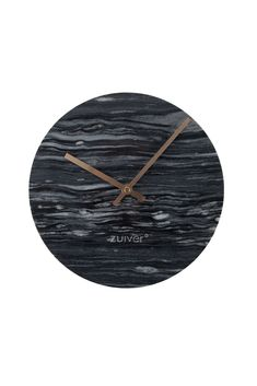Marble time clock Grey