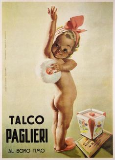 TALCO Vintage Italian advertising Poster, Vintage Publicity Poster Classics ...