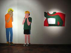 """Pañolencia"" de Erika Tanquilevich. Septiembre 2014"