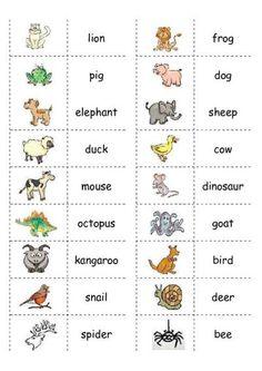 school domino English lessons for kids, English