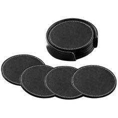 Napa Leather Coaster Set