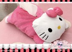 HELLO KITTY TISSUE HOLDER ₱350 XOXO ~ Pink Bisous (=^-^=) Visit our Website: www.PinkBisous.com Add us on Facebook for more updates and latest promotions: https://www.facebook.com/PinkBisousShop