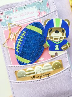 Sports Paper Clips by TheAngelShoppe on Etsy https://www.etsy.com/listing/225383182/sports-paper-clips