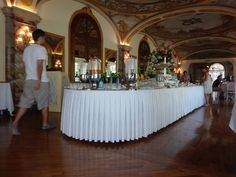 Breakfast to die for at the Grand Hotel Excelsior Vittoria in Sorrento Italy