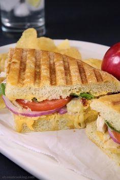 Frontega Chicken Panini Sandwich Recipe {Panera Bread Copycat} | Alyona's Cooking