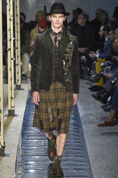 Antonio Marras Fall 2016 Menswear Fashion Show