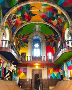 Templo del Kaos, arte y skate en una iglesia - Knowmad Design