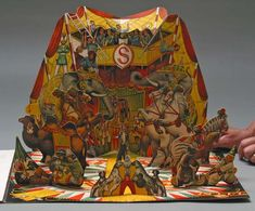 Circus Life  Vojtech Kubasta, illustrator  Bancroft and Co., London, 1961