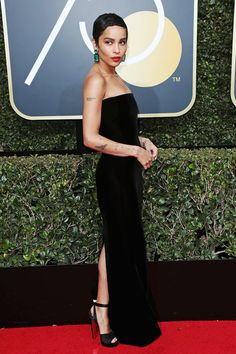 ZOE KRAVITZ  75th Annual Golden Globe Awards, Los Angeles | January 7, 2018