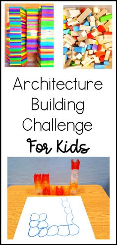 Introduce children to architecture with these stem activities for preschool. Simple, fun and engaging. #STEMactivities #stemactivitiespreschool Steam Activities, Indoor Activities, Preschool Activities, Primary Maths, Primary Education, Kindergarten Learning, Kids Learning, Math Stem, Fun Crafts