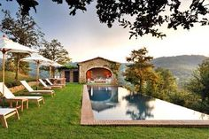 Spinaltermine | Castello di Reschio, Umbria, Italy | with 10 close friends, this would be an AMAZING location for a celebration!  Love, love, love.