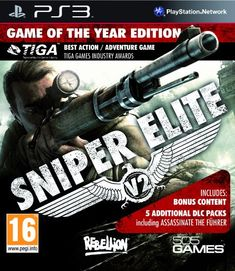 Order Sniper Elite Silver Star Edition XBox 360 used game available to buy for sale. Sniper Elite V2, Xbox 360 Games, Playstation Games, Ps4, Top Videos, Vintage Games, Silver Stars, Video Games, Berlin