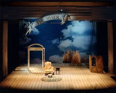 The Miser. Children's Theatre Company. Vicki Smith Set Design.