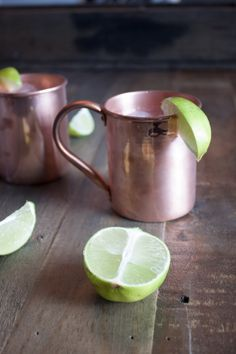 Moscow Mule: 1.5oz vodka, 5oz lime juice (in a shaker & strained into copper mug). top with 1 can ginger beer....worth a try!