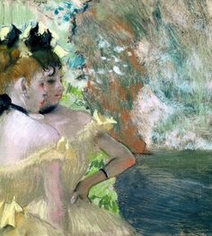 Dancers In The Wings Giclee Print Poster by Edgar Degas Online On Sale at Wall Art Store – Posters-Print.com