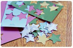 Guirnalda de estrellas / Star garland