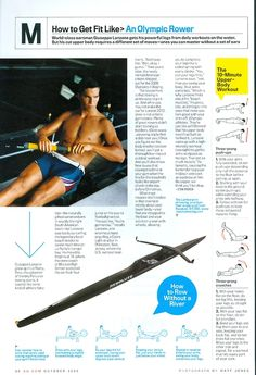 How to get fit like an olympic rower Rowing Sport, Men's Rowing, Rowing Workout, Rowing Crew, Rowing Team, Rowing Scull, Rowing Quotes, Rowing Technique, Sports