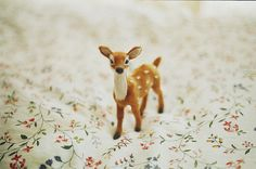 cute, bambi, and vintage image