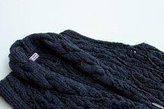 Arabesque Gilet : 100% Scottish Lambswool : digilpin.com #knitwear #handknit #wool #style #fashion