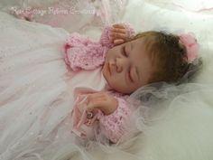 Custom Reborn 20 Doll Gena Beautiful door RoseCottageReborns