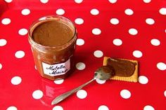 Miam, maman j'ai faim!: PÂTE À TARTINER MAISON FACON NUTELLA® Desserts With Biscuits, Nutella Spread, Caramel, Brunch, Food And Drink, Nutrition, Homemade, Baking, Patrice