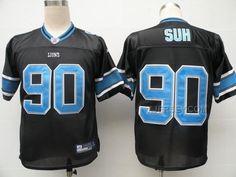 http://www.xjersey.com/lions-90-ndamukong-suh-black-jerseys.html Only$34.00 LIONS 90 NDAMUKONG SUH BLACK JERSEYS #Free #Shipping!