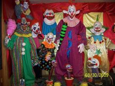Bring in the clowns... this would be great in the foyer to freak guests out as they arrive.