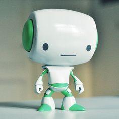 Robot toys by Dusan Cezek Cool Robots, Cool Toys, 3d Character, Character Design, Simple Character, Japan Kawaii, Build Your Own Robot, Robots Characters, Arte Robot