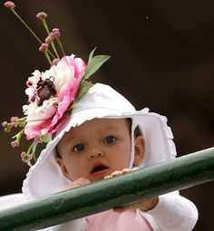 even little Derby Queens get into the hat craze!
