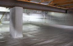 VaporLock Elite Crawl Space Sealing Backyard Projects, Home Projects, Crawl Space Repair, Crawl Space Encapsulation, Mobile Home Redo, Basement Insulation, Crawl Spaces, 4 Season Room, Nook Ideas
