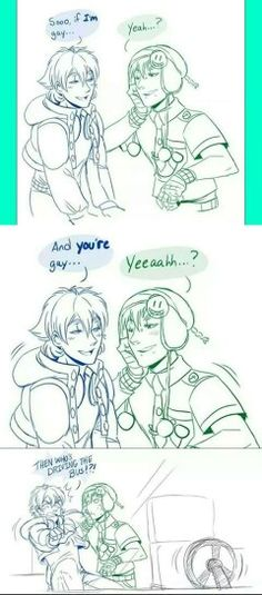 Best NoiAo short comic ever!! It always manages to crack me up xD