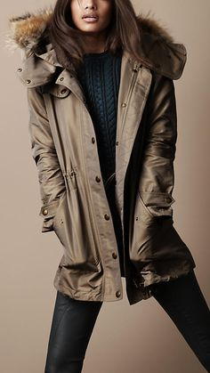 Burberry Brit Autumn/Winter - Parka,this is a must for me for the winter!!!! I need it to walk outside on blustery days!