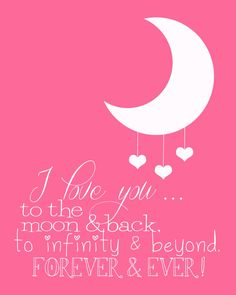 """I Love You to the Moon and Back! God said to me.""""you know how much you love Dominic.I love you even more"""" true story Edge Of The Universe, Hymen, Love Of My Life, My Love, I Love You To The Moon And Back, I Love You Mom, My Sun And Stars, To Infinity And Beyond, Little Doll"""